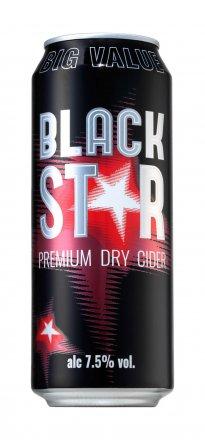 Black Star Cider Can