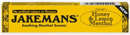 Jakemans Honey & Lemon Stick Pack - Pack of 10