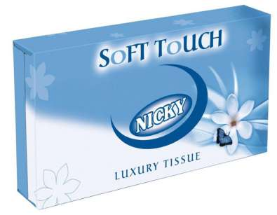 Nicky Soft Touch Man Size Facial Tissue