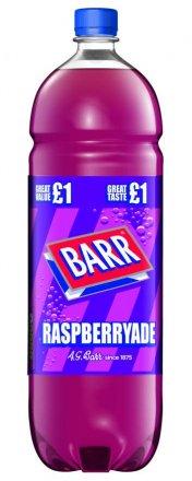Barr Raspberryade PM £1