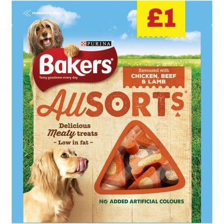 Bakers Allsorts Dog Treats PM £1