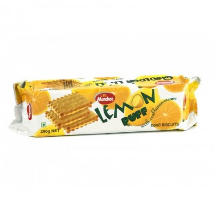 Munchee Lemon Puff Biscuits