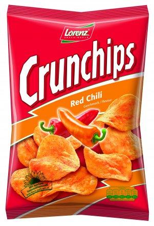 Lorenz Crunchips Red Chilli