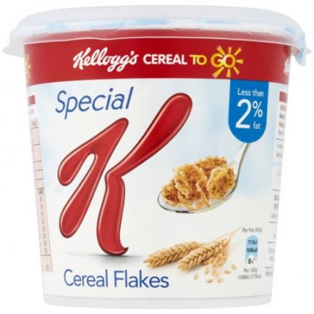 Kellogg's On The Go Cereal Pots