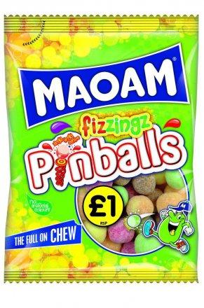 Maoam Pinball Fizzing PM £1