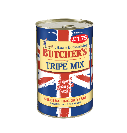 Butchers Tripe Mix Std PM £1.75