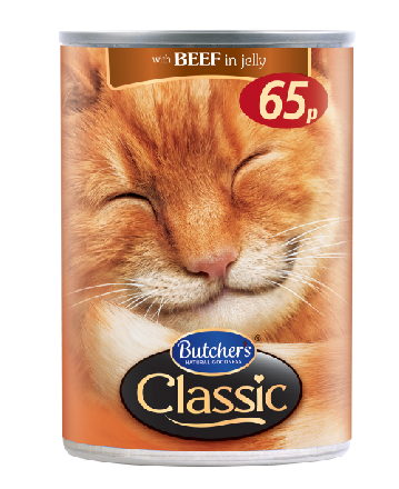 Butchers Classic Meat in Jelly Including Beef/Fish PM 65p