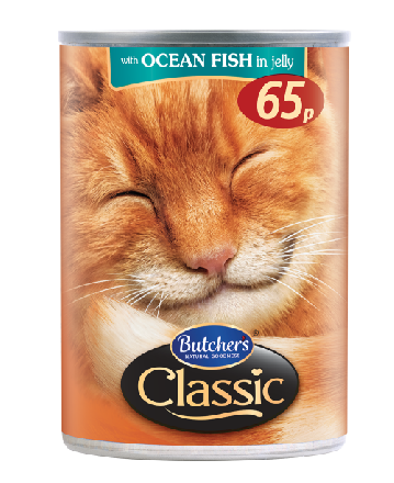 Butchers Classic Ocean Fish PM 65p