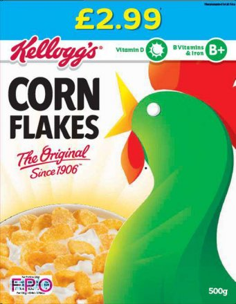 Kellogg's Corn Flakes PM £2.99