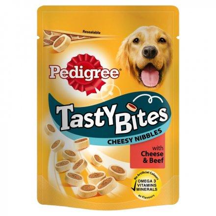 Pedigree Tasty Bites Cheesy Nibbles Dog Treats
