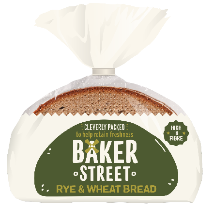 Baker Street Rye & Wheat Bread