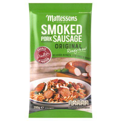 Mattessons Original Smoked Pork Sausage
