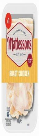 Mattessons Wafer Thin Roast Chicken PM £1