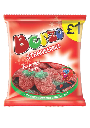 Berzo Strawberry PM £1