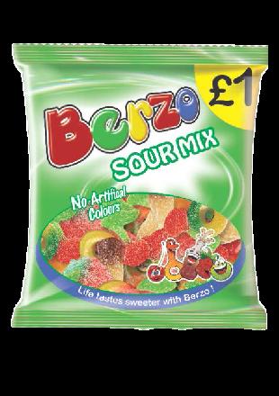 Berzo Sour Mix PM £1