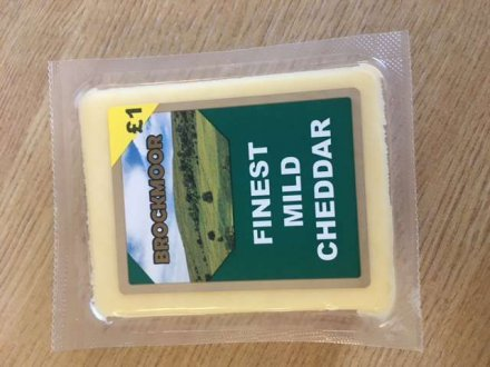 Brockmoor Mild Cheddar PM £1