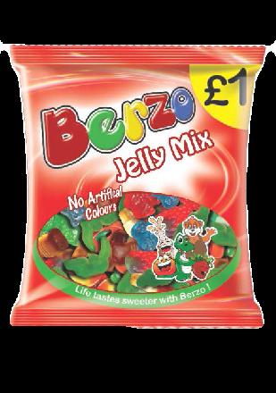 Berzo Jelly Mix PM £1