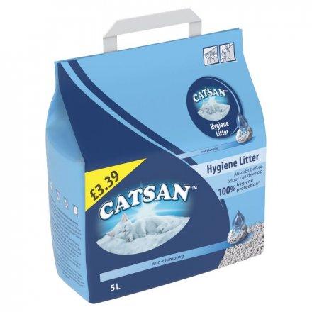 Catsan Hygiene Cat Litter PM £3.39