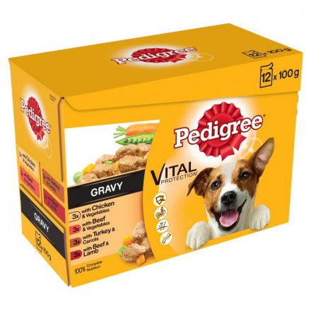 Pedigree Mixed Selection in Gravy Dog Pouches