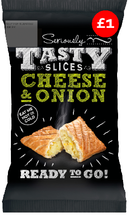 Seriously Tasty Cheese & Onion Slice PM £1