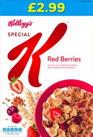 Kellogg's Special K Red Berries PM £2.99
