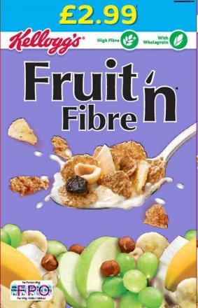 Kellogg's Fruit 'n' Fibre PM £2.99