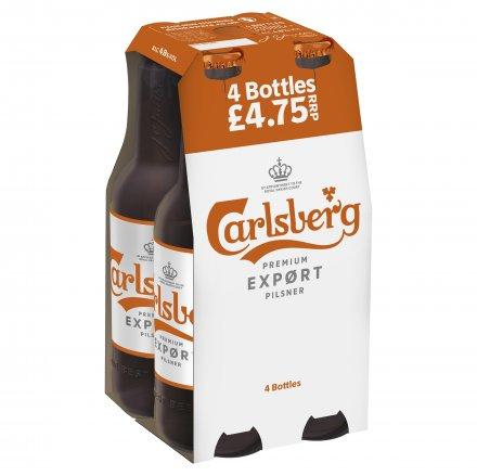 Carlsberg Export NRB PMP £4.75