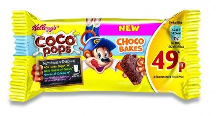 Kellogg's Coco Pops Choco Bake Bar PM 49p
