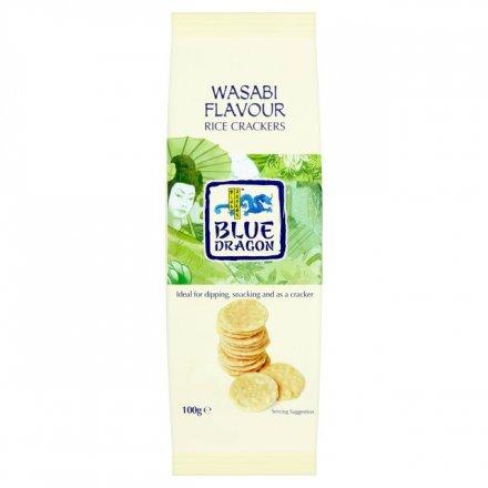 Blue Dragon Rice Crackers Wasabi