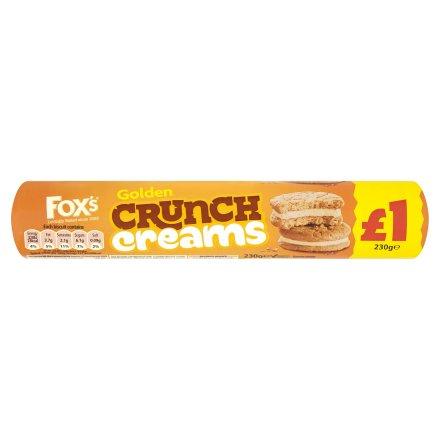 Fox's Golden Crunch Creams Biscuits PM £1