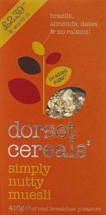 Dorset Cereals Simply Nutty Muesli PM £2.39
