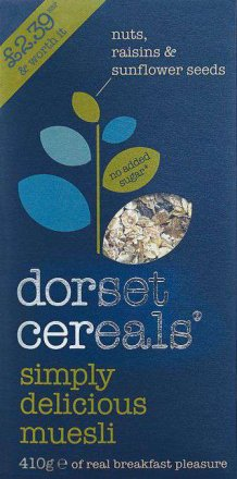 Dorset Cereals Simply Delicious Muesli PM £2.39