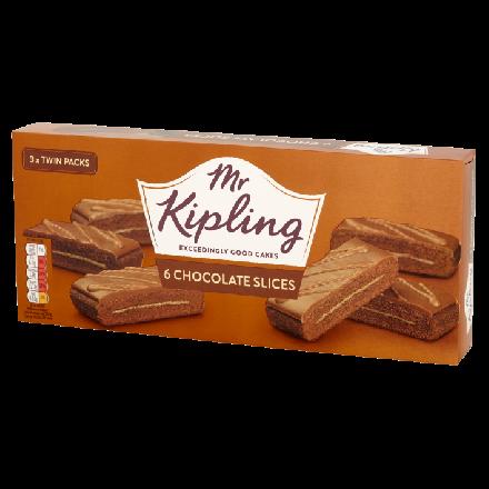 Mr Kipling Chocolate Flatpack Slices