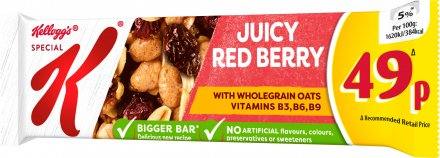 Kellogg's Special K Red Berry Cereal Bar PM 49p