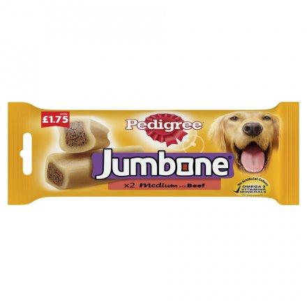 Pedigree Jumbone Medium Beef PM £1.75