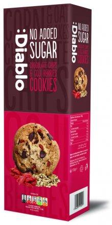Diablo No Added Sugar Chocolate Chip & Cranberry Cookies