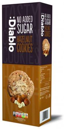Diablo No Added Sugar Hazelnut Cookies