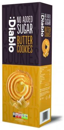 Diablo No Added Sugar Butter Cookies