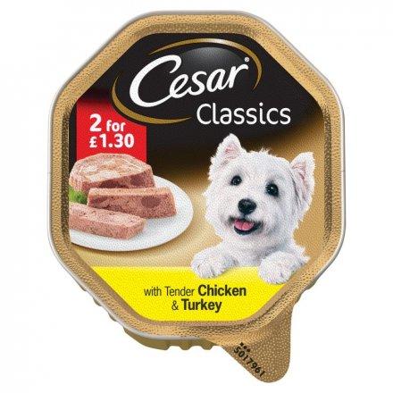 Cesar Tray Chicken & Turkey PM 2 for £1.30