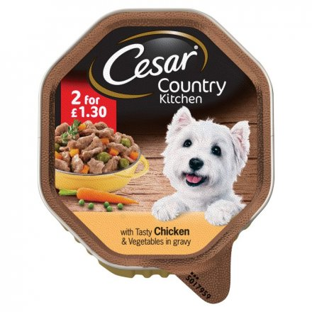 Cesar Tray Chicken & Vegetable PM 2 for £1.30