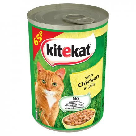 Kitekat Chicken In Jelly Cat Food Tin PM 65p