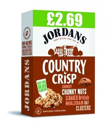 Jordans Country Crisp Chunky Nut PM £2.69