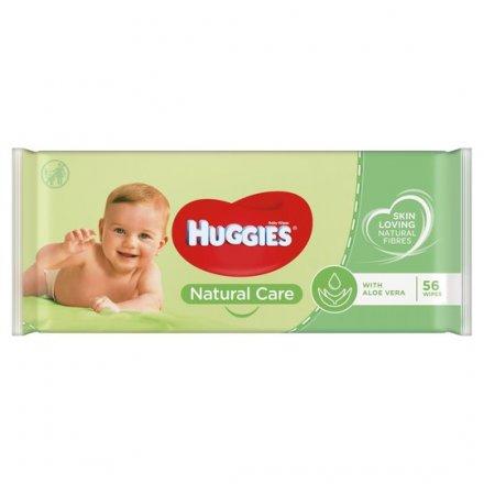 Huggies Baby Wipes Natural Care 56