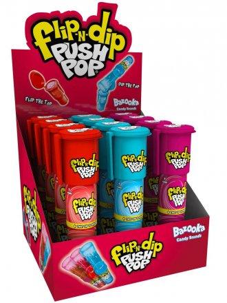 Bazooka Flip N Dip Push Pop