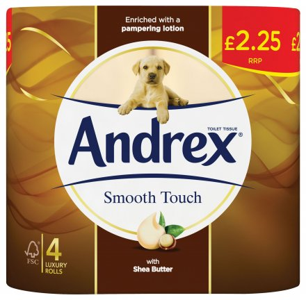 Andrex Toilet Tissue Smooth Touch PM £2.25