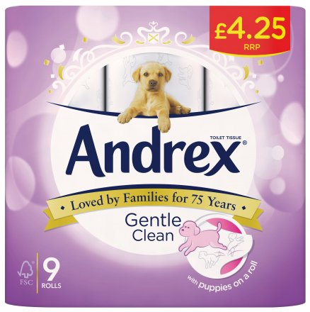 Andrex Toilet Tissue Gentle Clean PM £4.25