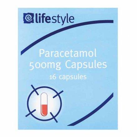 Lifestyle Paracetamol Capsules Blister 16s