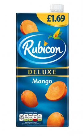 Rubicon Deluxe Mango Drink PM £1.69