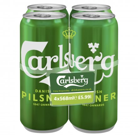 Carlsberg Pilsner Pints Cans