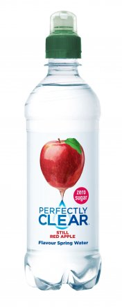 Perfectly Clear Still Red Apple
